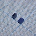 ДЖАМПЕР-6cb(2.54mm) синий
