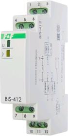 BIS-412, Реле импульсное 16А 230VAC для группового режима работы