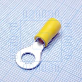 Наконечник кабельный RV5.5-6 Yellow