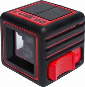 Фото 1/6 Построитель лазерных плоскостей ADA Cube 3D Home Edition (построитель, батарея, крепление универсальное-зажим, инструкция, мягкая сумка)