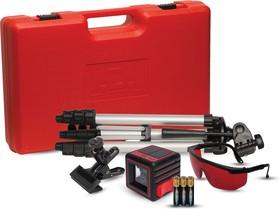 Фото 1/6 Построитель лазерных плоскостей ADA Cube 3D Ultimate Edition (построитель, батарея, крепление универсальное-зажим, штатив, очки, инструкция,