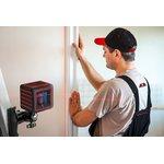Фото 19/21 Построитель лазерных плоскостей ADA Cube Ultimate Edition (построитель, батарея, крепление универсальное-зажим, штатив, очки, инструкция, ке