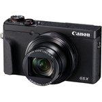 "Фото 3/4 Фотоаппарат Canon PowerShot G5 X Mark II черный 20.1Mpix Zoom5x 3"" 4K SDXC/SD/SDHC CMOS IS opt 5minF rotLCD TouLCD VF 5.9fr/s RAW 60fr/s HDM"