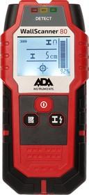 Фото 1/9 Детектор проводки ADA Wall Scanner 80