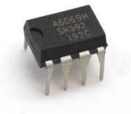 STRA6069H, Микросхема, SMPS схема упpавления, MOSFET 700V/A, Fosc=100kHz, Pout 19W [DIP8]