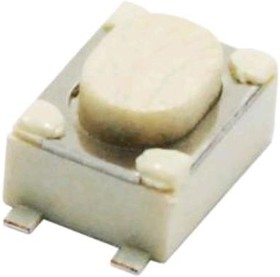 KLS7-TS3401- 2,5-180(TVAF11), Кнопка тактовая SMD 4х3х2,5мм