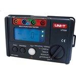UT526 UNI-T Тестер электрических цепей(измеритель заземления и сопротивления изоляции) цифровой