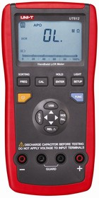 UT612, Измеритель RLC/ESR цифровой с автоматическим выбором диапазона, порт USB