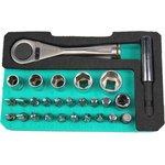 SD-2318M, Набор торцевых головок и бит с рукояткой-ключом (5 ...