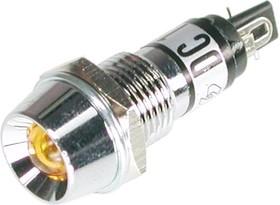 KLS9-IL-M9-03A-N3-Y (P-704Y), Лампа накаливания с держателем желтая 12V