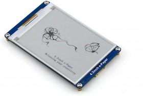 Фото 1/5 4.3inch e-Paper UART Module, E-Ink дисплей 800×600px со встроенныим библиотеками шрифтов, последовательный интерфейс