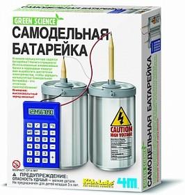 Фото 1/3 Самодельная батарейка, Набор научно-познавательный