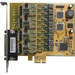 VScom 800i PCIex, 8-портовая плата RS-422/485 на шину PCI Express