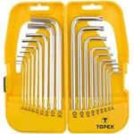 35D953, Ключи шестигранные и Torx, набор 18 шт., удлинённые