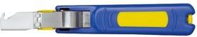 KL745HK, KLAUKE нож кабельный лезвие крюк 4-28мм