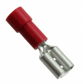 0190170007, Quick Disconnect Terminal 18-22AWG Brass Red F 22mm Tin InsulKrimp™ Bag