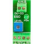 DU-03 Приемник и усилитель аудиосигнала работает с микрофонами с MD-015 и MD-012 ...