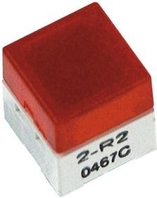 B3W9000R1R, Switch Tactile N.O. SPST Square Button PC Pins 0.05A 24VDC 1.57N Thru-Hole Box