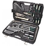 Набор инструмента 1/2&1/4&3/8DR с 6-гранными головками 142 предметов RF-41421-5