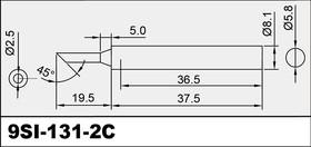 5SI-131-2C, Жало для паяльника