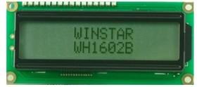 WH1602B-YYH-CTK, ЖКИ 16х2, англо-русский
