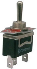 KN3(B)-103AAP-A3, Тумблер ON-OFF-ON (15A 250VAC) SPST 3P
