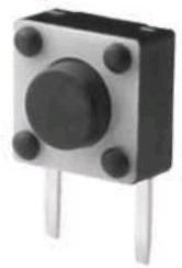 IT-1102V, Кнопка тактовая угловая 6х6х4.3мм