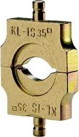 """Матрица серии """"4"""" для изолир. медных трубч. и из. штыревых наконечников 70 мм2 (овал)"""