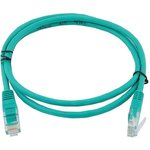 Фото 2/2 GCR-LNC05-0.5m, Патч-корд прямой ethernet 0.5m, UTP, 24AWG, Greenconnect Russia кат.5e, 1 Гбит/с, RJ45, T568B, позол