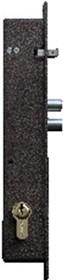 Полис-20Б (с блокировкой) Врезной электромеханический замок ключ-ключ