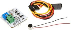Фото 1/4 Troyka-Sound Loudness Sensor V2, Датчик шума аналоговый для Arduino проектов