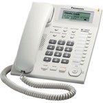 Телефон проводной Panasonic KX-TS2388RUW белый