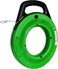 УЗК MagnumPro - Пластиковый барабан со стальной лентой 20 м (сеч. 3,0х1,5 мм) для протяжки кабеля