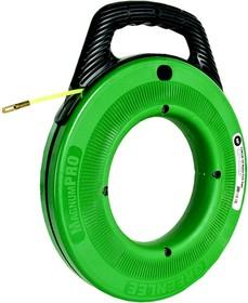 УЗК MagnumPro - Пластиковый барабан с круглым прутком из нейлона 15 м (Ф 4,8 мм) для протяжки кабеля