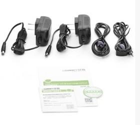 Фото 1/2 UG-40210, Удлинитель HDMI по витой паре до 60m UGreen (комплект)