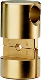 """Матрица серии """"25"""" для трубч. медных DIN наконечников 500 мм2 (шестигранник, широкий обжим)"""