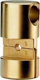 """Матрица серии """"25"""" для трубч. медных облегч. наконечников 400 мм2 (шестигранник, широкий обжим)"""