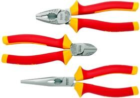 KL303IS Набор из 3-х различных инструментов с изол. рукоятками (VDE до 1000В)