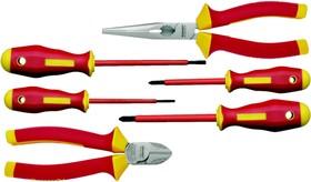 KL306IS Набор из 6-ти различных инструментов с изол. рукоятками (VDE до 1000В)
