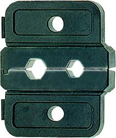 """Матрица серии """"50"""" для медных трубчатых наконечников 1,5 / 2,5 / 4 мм2 для сплошных жил"""