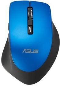Мышь ASUS WT425 оптическая беспроводная USB, синий [90xb0280-bmu040]