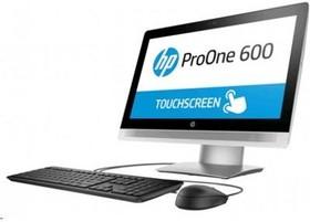 Моноблок HP ProOne 600 G2, Intel Core i3 6100, 4Гб, 500Гб, Intel HD Graphics 530, DVD-RW, Windows 10 Professional, черный и (T4J58EA)