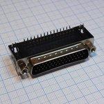 Фото 3/4 DHR-44M (DS1038 44M), Вилка 44 pin высокой плотности на плату