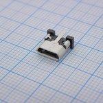 105133-0021, Разъем USB, Micro USB Типа B, USB 2.0, Гнездо ...