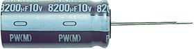UPW1E220MDD1TD, ALUMINUM ELECTROLYTIC CAPACITOR, 22UF, 25V, 20%, RADIAL
