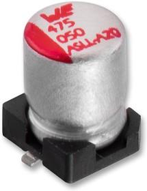 865060153007, SMD электролитический конденсатор, Radial Can - SMD, 330 мкФ, 6.3 В, Серия WCAP-ASLL