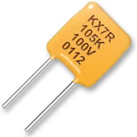 Фото 1/2 C330C334KBR5TA, Многослойный керамический конденсатор, 0.33 мкФ, 630 В, Goldmax, серия 300, ± 10%