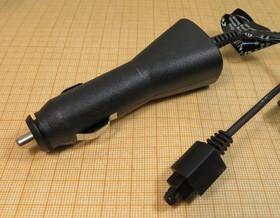 Штекер прикуривателя со шнуром и разъёмом питания Sony/Ericson, №3140 БП\ 5В \ \ 12В\авто\ 2C\ERICS-688/788\
