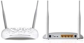 Беспроводной маршрутизатор TP-LINK TD-W8961NB, ADSL2+, белый