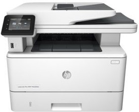 МФУ HP LaserJet Pro M426fdn RU, A4, лазерный, серый [f6w17a]